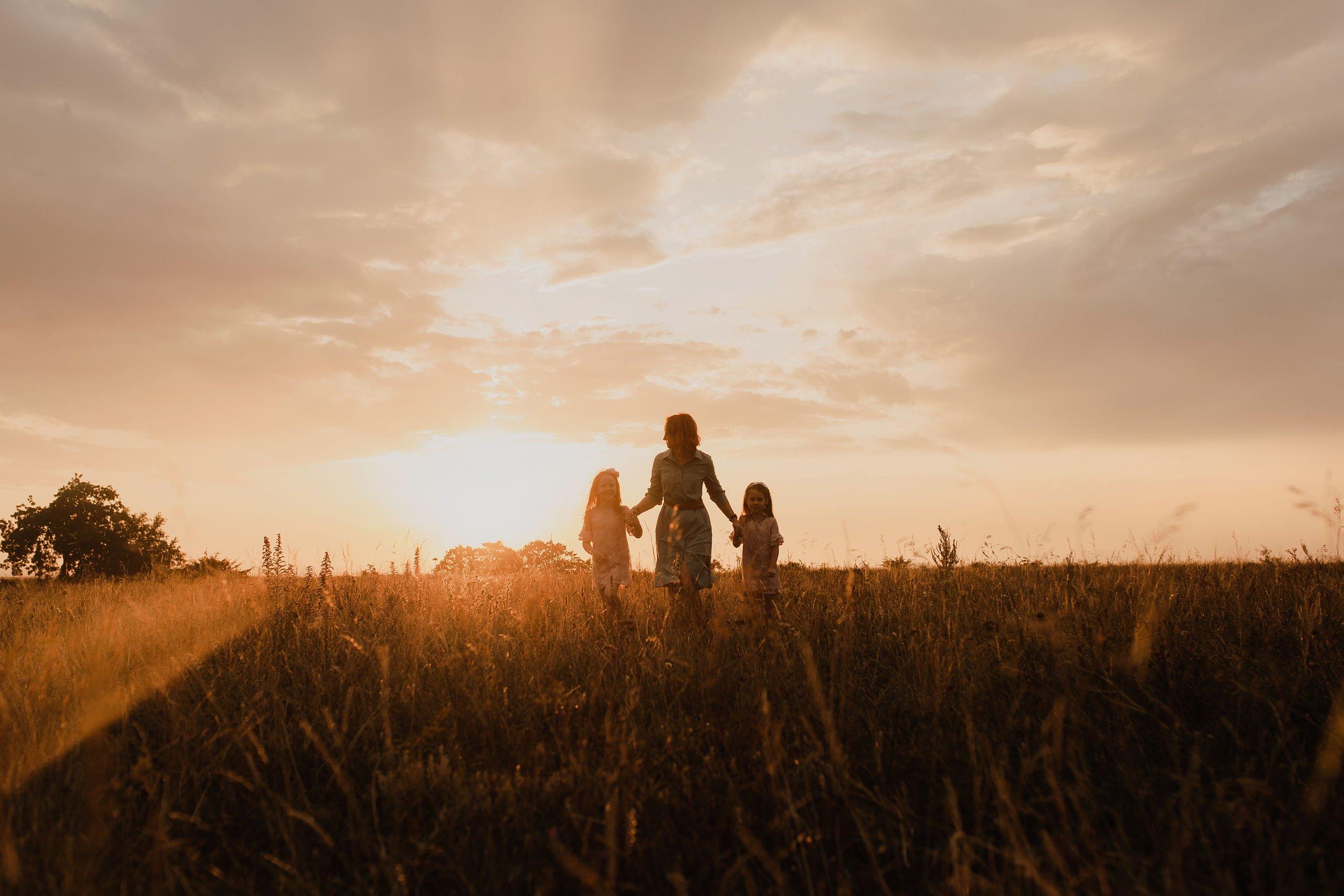 Беспутные поляны. Семейная прогулка